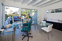 Stock photo of modern home office