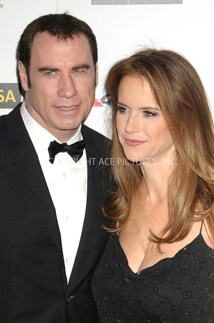 WWW.ACEPIXS.COM . . . . .  ..... . . . . US SALES ONLY . . . . .....January 14 2012, LA....John Travolta arriving at the 9th Annual G'Day USA Black Tie Gala at the Hollywood & Highland Grand Ballroom on January 14, 2012 in Hollywood, California....Please byline: FAMOUS-ACE PICTURES... . . . .  ....Ace Pictures, Inc:  ..Tel: (212) 243-8787..e-mail: info@acepixs.com..web: http://www.acepixs.com