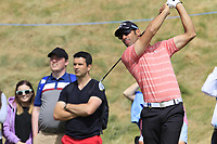 Alvaro Quiros (ESP) tees off the 8th tee during Friday's Round 2 of the 2018 Dubai Duty Free Irish Open, held at Ballyliffin Golf Club, Ireland. 6th July 2018.<br /> Picture: Eoin Clarke | Golffile<br /> <br /> <br /> All photos usage must carry mandatory copyright credit (&copy; Golffile | Eoin Clarke)