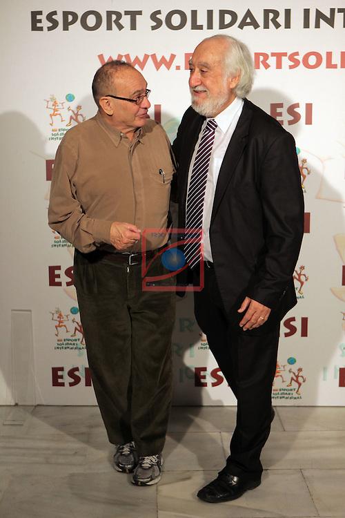 XIe Sopar Solidari d'ESI (Esport Solidari Internacional).<br /> Josep Maldonado &amp; el Pare Manel.