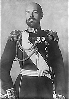BNPS.co.uk (01202 558833)Pic: PrivateCollection/BNPS<br /> <br /> Grand Duke Sergei Mikhailovich of Russia.<br /> <br /> A Russian Grand Duke branded King George V a 'scoundrel' who 'did not lift a finger' to save the Romanov family in the revolution there of 1917, explosive diaries have revealed.<br /> <br /> The cousin of the overthrown Russian Royal family blamed the British King for their executions because he failed to grant them refuge.<br />  <br /> Dmitri Pavlovich no-holds-barred diary extracts have been published for the first time in a new book by respected historian Coryne Hall, To Free The Romanovs.