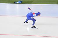 SPEEDSKATING: HAMAR: Vikingskipet, 28-02-2020, ISU World Speed Skating Championships, Sprint, 1000m Men, Håvard Holmefjord Lorentzen (NOR), ©photo Martin de Jong