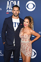 LAS VEGAS, NV - APRIL 7: Eric Decker and Jessie James Decker attend the 54th Annual ACM Awards at the Grand Garden Arena on April 7, 2019 in Las Vegas, Nevada. <br /> CAP/MPIIS<br /> &copy;MPIIS/Capital Pictures