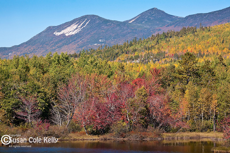 Mt Oji in autumn, Baxter State Park, ME