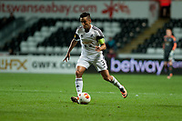 Thursday 24 October 2013  <br /> Pictured: Neil Taylor of Swansea <br /> Re:UEFA Europa League, Swansea City FC vs Kuban Krasnodar,  at the Liberty Staduim Swansea