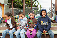 Melrose Leadership Academy in Oakland, California is an OUSD public school that will eventually become a K-8 Spanish bilingual dual immersion program. Grades kinder to third are currently Spanish bilingual; the upper grades are a middle school.