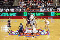 LOS ANGELES, CA - MARCH 12:  Nnemkadi Ogwumike during Stanford's 72-52 win over Arizona in the Pac-10 Tournament at the Staples Center on March 12, 2010 in Los Angeles, California.