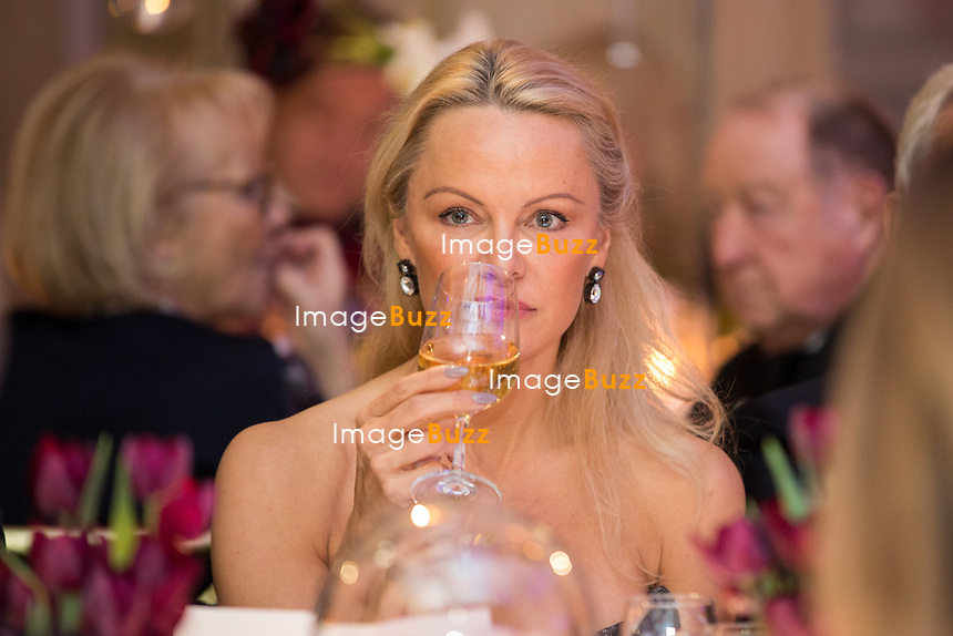 Pamela Anderson : &quot; The Best &quot; 40th Edition &agrave; l'h&ocirc;tel George V.<br /> France, Paris, 27 janvier 2017.<br /> ' The Best ' 40th Edition at the George V hotel in Pais.<br /> France, Paris, 27 January 2017