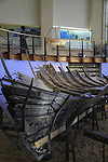 Israel, University of Haifa, the 2,400 years old Phoenician boat at the Reuben and Edith Hecht Museum