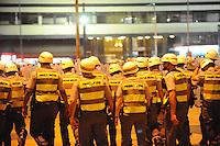 SAO PAULO, SP, 21.10.2013 - Protesto pela educação na Av Paulista termina em confronto na Praça da Repuplica-  Adriano Lima / Brazil Photo Press)