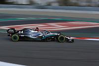 28th February 2020; Circuit De Barcelona Catalunya, Barcelona, Catalonia, Spain; Formula 1 Pre season Testing Week Two, Day 3; Mercedes AMG Petronas, Lewis Hamilton