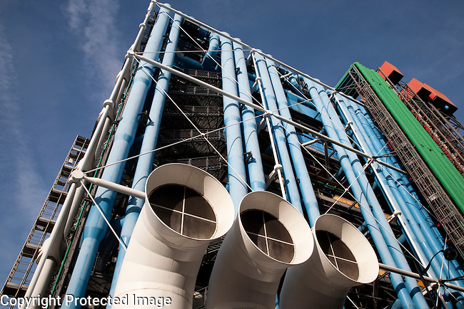 Georges Pompidou Centre in Paris, France