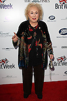 LOS ANGELES, CA, USA - APRIL 22: Doris Roberts at the 8th Annual BritWeek Launch Party on April 22, 2014 in Los Angeles, California, United States. (Photo by Celebrity Monitor)