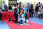LOS ANGELES - OCT 30: Perry Farrell, Etty Lau Farrell at a ceremony where 'Jane's Addiction' was honored with a star on the Hollywood Walk of Fame on October 30, 2013 in Los Angeles, California