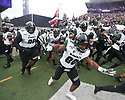 SEATTLE, WA - SEPTEMBER 14: Hawaii's (80) Mekel Ealy (WR) gets pumped up before the college football game between the Washington Huskies and the Hawaii Rainbow Warriors on September 14, 2019 at Husky Stadium in Seattle, WA. Jesse Beals / www.Olympicphotogroup.com