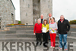 Munster Fleadh 2016: Pictured at Listowel Castle to announce that Listowel will host the 2016 Munster Fleadh were in front Gerry Behan, Cahirperson Listowel Vintners, Marie Stack, Love Listowel, Marie Gorman & Seanie Broderick, Treasurer, Listowel Vintners. Back : Brendan Kennelly, PRO Listowel Comholtas & Eugene Moriarity, chairperson, Listowel Comholtas.
