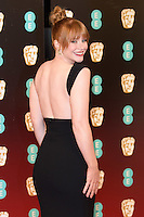 Bryce Dallas Howard at the 2017 EE British Academy Film Awards (BAFTA) held at The Royal Albert Hall, London, UK. <br /> 12 February  2017<br /> Picture: Steve Vas/Featureflash/SilverHub 0208 004 5359 sales@silverhubmedia.com