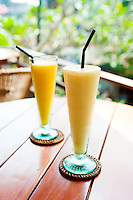 Mango Juices at Breakfast in Ubud, Bali, Indonesia. Suddenly realised as we were having breakfast, that it was the first time we'd gone out for a proper big breakfast the entire time we'd been travelling. And it was so good…! We were picked up at 11am, so we could make the most of our villa at Payangan Hideaway! It was awesome. The smartest place I have ever stayed….and a bargain. Reduced from £170/night to £70 on laterooms.com, a great website! Had a really great day enjoying a massage, amazing drinks, and lots of tasty food!
