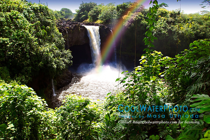 Rainbow Falls, Hilo, Big Island, Hawaii
