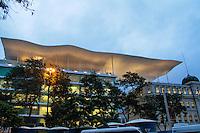 RIO DE JANEIRO; RJ; 01 DE MARÇO 2013 - Fachada do Museo de Arte do Rio de Janeiro (MAR) inaugurado no dia dos 448 anos da cidade. FOTO: NÉSTOR J. BEREMBLUM - BRAZIL PHOTO PRESS.