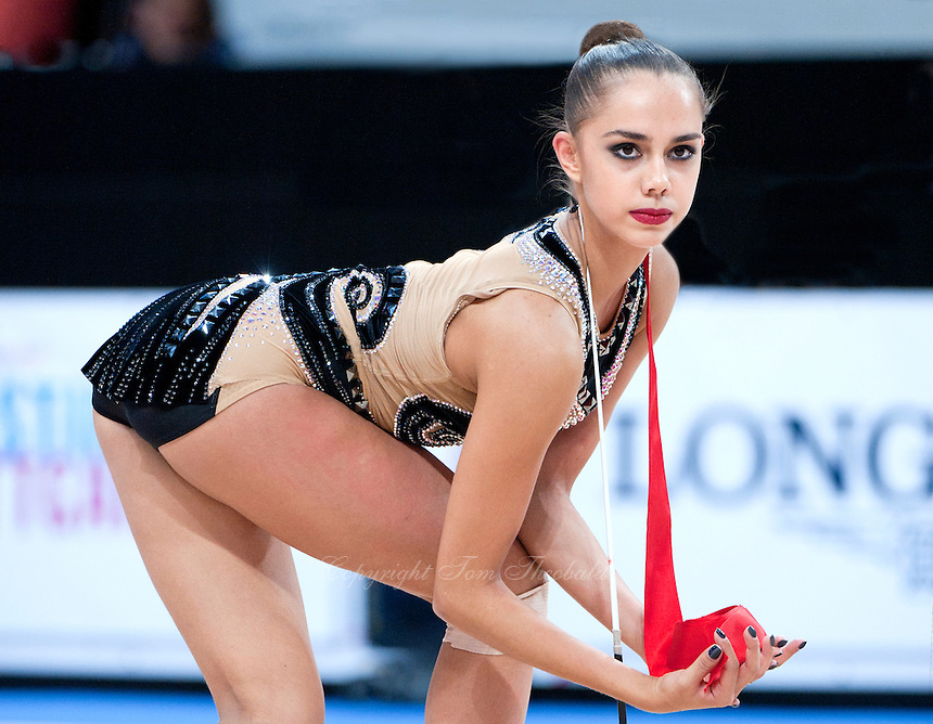 September 11, 2015 - Stuttgart, Germany - MARGARITA MAMUN of Russia performs at 2015 World Championships.