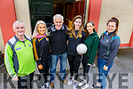 The organising committee of the Currow LGFA road cycle on Sunday. L to r: Marcus Cronin, Rebecca Lyne, Fred O'Dwyer, Fiona Nelligan, Maura Conroy and Maggie O'Sullivan.