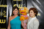 AMC Bobbie Eakes and Sesame Street's Zoe at the 36h Annual Daytime Entertainment Emmy® Awards Nomination Party - Sponsored By: Good Housekeeping and The National Academy of Television Arts & Sciences (NATAS) on Thursday, May 14, 2009 at Hearst Tower, New York City, New York. (Photo by Sue Coflin/Max Photos)                                 ..