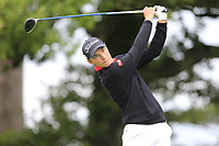 Rasmus Hojgaard (Denmark) during final day of the World Amateur Team Championships 2018, Carton House, Kildare, Ireland. 08/09/2018.<br /> Picture Fran Caffrey / Golffile.ie<br /> <br /> All photo usage must carry mandatory copyright credit (© Golffile | Fran Caffrey)
