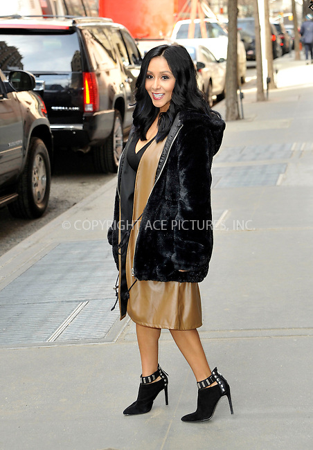 WWW.ACEPIXS.COM<br /> <br /> March 25 2015, New York City<br /> <br /> TV reality star Nicole 'Snookie' Polizzi made an appearance at 'The View' on March 25 2015 in New York City<br /> <br /> By Line: Curtis Means/ACE Pictures<br /> <br /> <br /> ACE Pictures, Inc.<br /> tel: 646 769 0430<br /> Email: info@acepixs.com<br /> www.acepixs.com