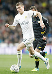 Real Madrid's Toni Kroos during La Liga match. March 20,2016. (ALTERPHOTOS/Acero)