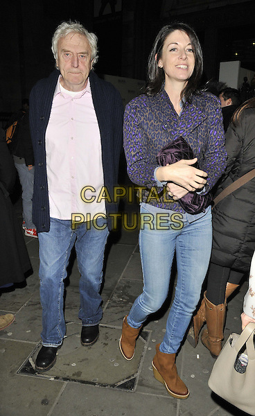 LONDON, ENGLAND - FEBRUARY 03: guest &amp; Mary McCartney attend the David Bailey: Bailey's Stardust VIP private view, National Portrait Gallery, St Martin's Place, on Monday February 03, 2014 in London, England, UK.<br /> CAP/CAN<br /> &copy;Can Nguyen/Capital Pictures