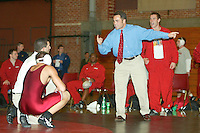 2003-2004: Stanford Wrestling action in Stanford, CA.<br />