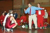 2003-2004: Stanford Wrestling action in Stanford, CA.<br />Photo credit mandatory: David Gonzales