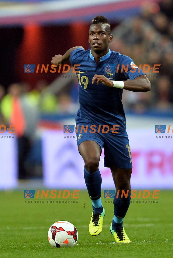 Paul Pogba (fra) <br /> Parigi 15/10/2013 <br /> Football Calcio 2013/2014<br /> Qualificazioni Mondiali 2014 <br /> Francia - Finlandia <br /> Foto Panoramic / Insidefoto <br /> ITALY ONLY