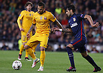 05.04.2016 Barcelona. Uefa Champions League Quarter-finals 1st leg. Game between FC Barcelona agaisnt Atletico de Madrid at Camp Nou. Picture show Dani Alves