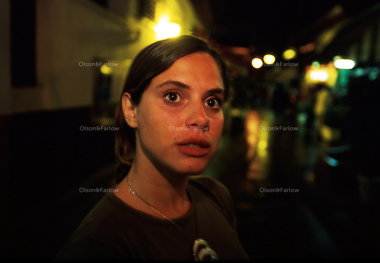 Ariadna Del Carmen Rodriguez--Single girl in the Cuban Underground. Ariadna  looks like a child although she is an adult.  She is a young woman trying to lead an independent life and follow her dreams. Working as an actress in the theater, her charm is a mixture of innocence and a theatrical personality. She lives with a roommate in the city of Havana while she is going to school. She and her room mate are both actresses and wander through the academic and Cuban underground of artists and friends.