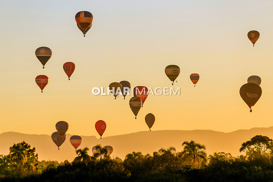 Festival de balonismo, Torres, Rio Grande do Sul. 2017. Foto Andre Arcenio