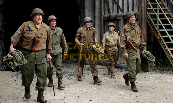 John Goodman, Matt Damon, George Clooney, Bob Balaban and Bill Murray <br /> in The Monuments Men (2014) <br /> *Filmstill - Editorial Use Only*<br /> CAP/FB<br /> Image supplied by Capital Pictures