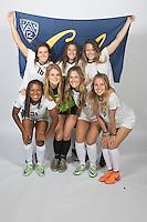 BERKELEY, CA - August, 7, 2016: Kelly Fitzgerald (15), Arielle Ship (10), Zoe Clark (21), Maddie Julian (55), Alexa Vandevanter (4), Lynsey Hromatko (32), Emma Fletcher (8)