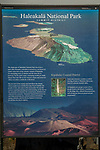 Interpretive Panel At Haleakala Summit