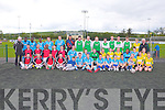 SOCCER TOURNAMENT: Taking part in the Kerry District League John Giles 7 a-side soccer tounament at Mounthawk park, Tralee on Monday.