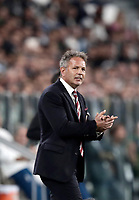 Calcio, Serie A: Torino, Allianz Stadium, 23 settembre 2017. <br /> Torino's Sinisa Milhajlovic speaks to his players during the Italian Serie A football match between Juventus and Tori0i at Torino's Allianz Stadium, September 23, 2017.<br /> UPDATE IMAGES PRESS/Isabella Bonotto
