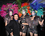Joey Arias with Drag Queen Party Guests attending the Liza Minnelli 67th Birthday Celebration at the Copa in New York City on 3/13/2013..