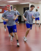 Matt Ferreira (Lowell - 17), Patrick Cey (Lowell - 19), Riley Wetmore (Lowell - 16) - The Boston College Eagles defeated the visiting University of Massachusetts-Lowell River Hawks 5-3 (EN) on Saturday, January 22, 2011, at Conte Forum in Chestnut Hill, Massachusetts.