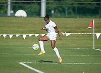 Kansas City, MO - Sunday September 04, 2016: Tiffany McCarty during a regular season National Women's Soccer League (NWSL) match between FC Kansas City and the Sky Blue FC at Swope Soccer Village.