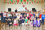 The large crowd that turned up for the Kilcummin Comhaltas 40th anniversary celebrations in Kilcummin GAA clubhouse on Sunday