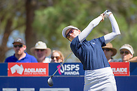 Kris Tamulis (USA) during the third round of the ISPS Handa Women&rsquo;s Australian Open, The Grange Golf Club, Adelaide SA 5022, Australia, on Saturday 16th February 2019.<br /> <br /> Picture: Golffile | David Brand<br /> <br /> <br /> All photo usage must carry mandatory copyright credit (&copy; Golffile | David Brand)