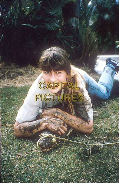 CROCODILE HUNTER: WILDEST HOME VIDEOS.Pictured: Terri Irwin and crocodile -.Filmstill - Editorial Use Only.Ref: FB.sales@capitalpictures.com.www.capitalpictures.com.Supplied by Capital Pictures.