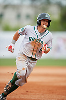 Daytona Tortugas left fielder TJ Friedl (6) runs the bases during a game against the Florida Fire Frogs on April 7, 2018 at Osceola County Stadium in Kissimmee, Florida.  Daytona defeated Florida 4-3 in a six inning rain shortened game.  (Mike Janes/Four Seam Images)