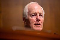 United States Senator John Cornyn (Republican of Texas) speaks at a hearing on the crisis at the Southwest Border where Acting Secretary of the United States Department of Homeland Security Kevin McAleenan testified before the U.S. Senate Judiciary Committee on Capitol Hill in Washington D.C., U.S. on June 11, 2019. Photo Credit: Stefani Reynolds/CNP/AdMedia